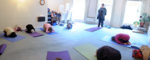Yoga class at the Wheel of Life Centre in Malvern